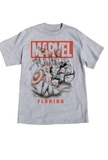 Jerry Leigh MARVEL AVENGERS FL ADULT TEE