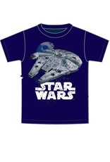 Jerry Leigh MILLENIUM FALCON ADULT TEE