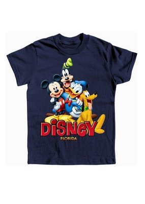 Jerry Leigh FL HAPPY MICKEY TRIO KIDS TEE