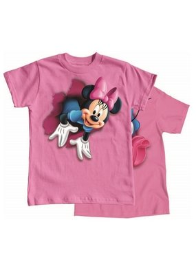 Jerry Leigh POP OUT MINNIE ADULT TEE