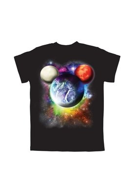 Jerry Leigh PLANET MICKEY KIDS TEE