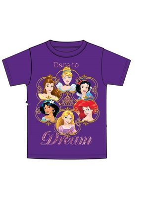 "Jerry Leigh ""DARE TO DREAM"" PRINCESS KIDS TEE"