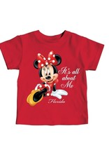 """Jerry Leigh """"IT'S ALL ABOUT ME"""" FL TODDLERS TEE"""