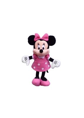"Jerry Leigh 11"" PINK MINNIE PLUSH"