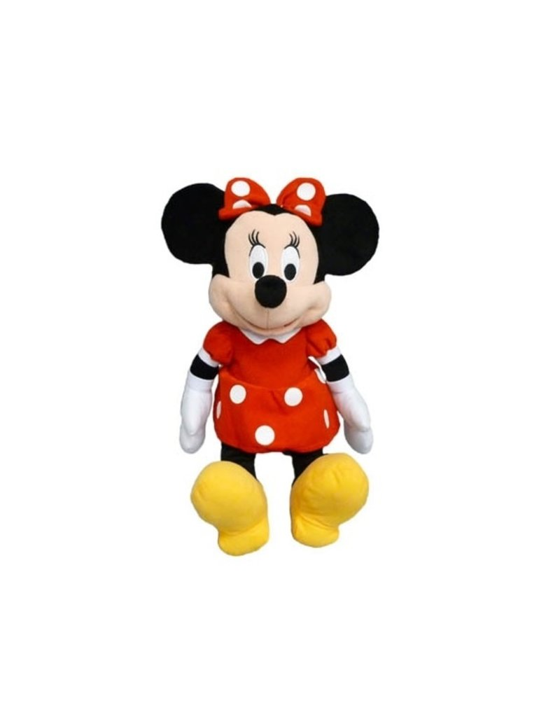 """Jerry Leigh 15"""" RED MINNIE PLUSH"""