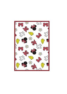 Jerry Leigh MINNIE PARTS SINGLE KITCHEN TOWEL