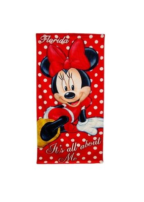 Jerry Leigh FL ALL ABOUT ME MINN BEACH TOWEL