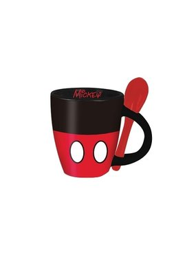 Jerry Leigh MICKEY SIGNATURE SHORTS ESPRESSO SPOON MUG