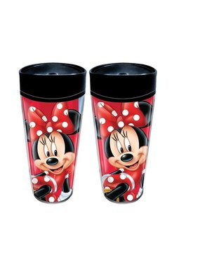 Jerry Leigh MINNIE TRAVEL 20 OZ ACRYLIC TRAVEL MUG