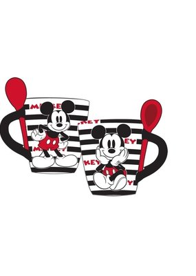Jerry Leigh MICKEY STRIPES SPOON CUP