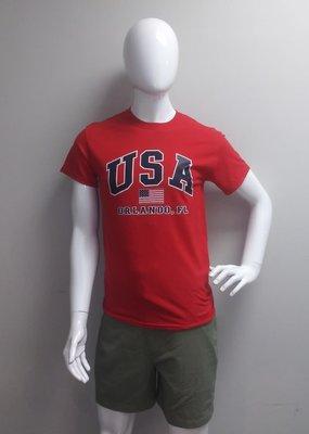 USGF USA ORLANDO FL FLAG TEE SHIRT