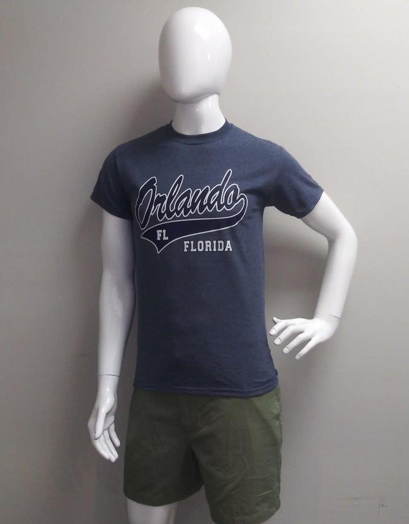 USGF ORL, FL BASEBALL NAVY PRINT TEE SHIRT