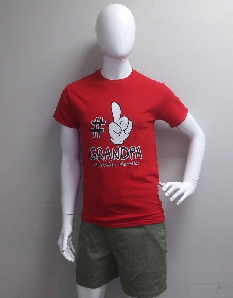 USGF #1 GRANDPA TEE SHIRT