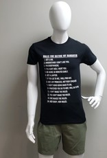 USGF RULES FOR DATING DAUGHTER TEE SHIRT