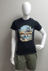 USGF ORLANDO FL GLASSES ON BEACH TEE SHIRT