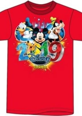 Jerry Leigh FL 2019 POP OUT DISNEY AND FRIENDS  TEE