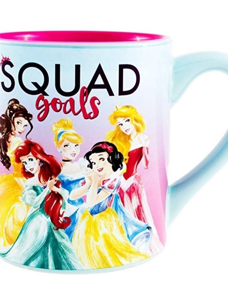 SILVER BUFFALO DISNEY PRINCESS SQUAD GOALS 14oz CERAMIC MUG