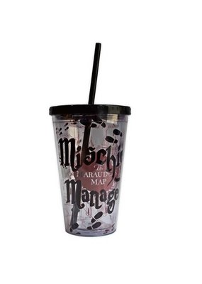SILVER BUFFALO HP&PRISONER OF AZKABAN TRAVEL MUG