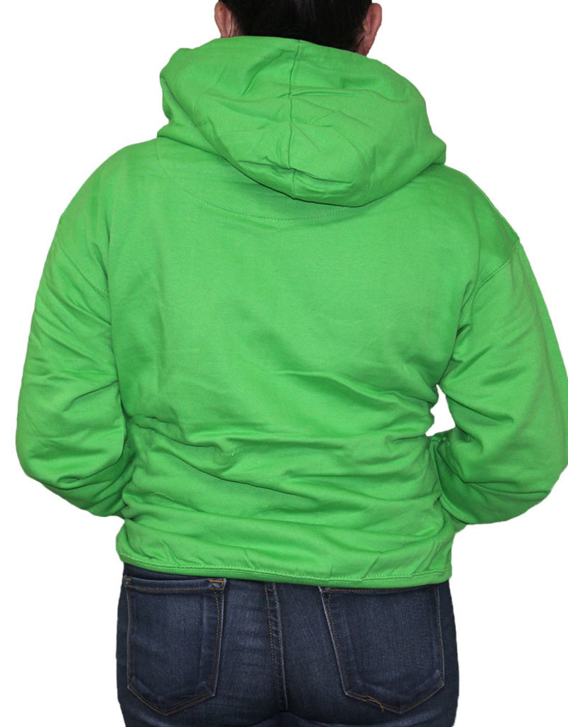 EXST EMBROIDERY ZIPPER FRONT HOODIE