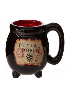 SILVER BUFFALO POLYJUICE POTION LABEL 3D MUG