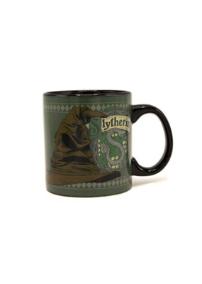 SILVER BUFFALO HARRYPOTTER SLYTHERIN TEMP REVEAL MUG