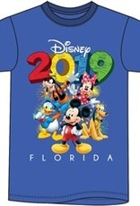 Jerry Leigh FL 2019 FUN FRIENDS S/S ADULT TEE