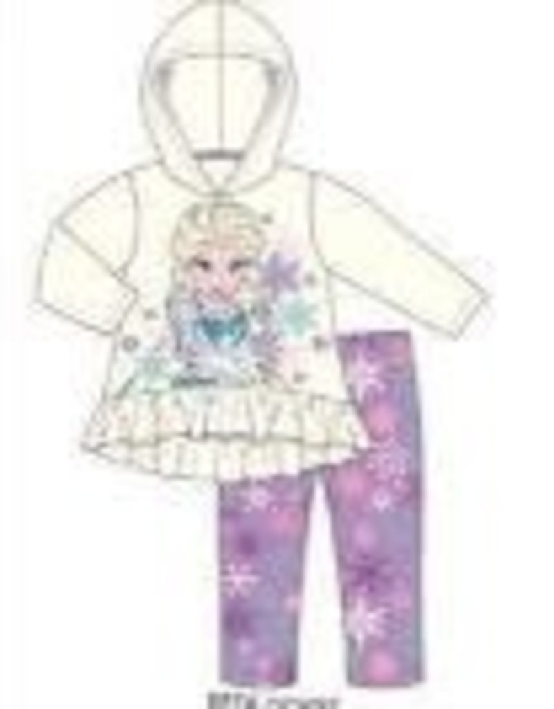 CAN FROZEN ELSA SNOWFLAKE LEGGING SET