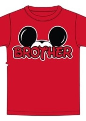 Jerry Leigh RG BRO FAN S/S TODDLER TEE