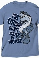 Jerry Leigh I'M GRUMPY ADULT TEE