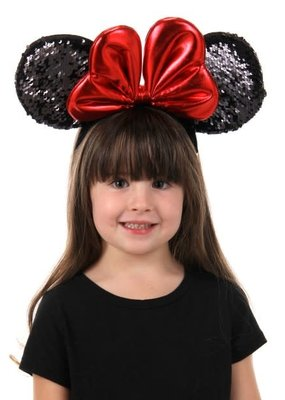 MINNIE SEQUIN EARS HEADBAND