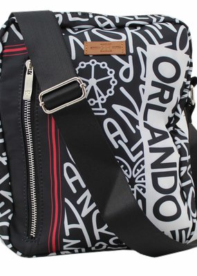 ORLANDO BALAGAN BLACK MESSENGER BAG