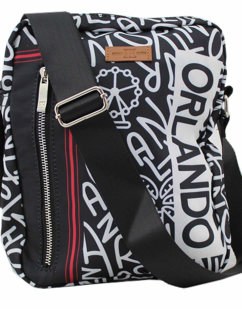ORLANDO BALAGAN BLACK MESSENGER BAG