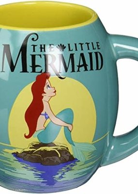 SILBUF THE LITTLE MERMAID MOVIE 18oz CERAMIC CURVED MUG