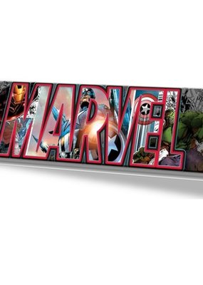 SILBUF Avengers Characters in Marvel Canvas 30in x 12in CANVAS WALL ART