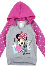 PKW MINNIE MOUSE GIRLS TODDLER PULLOVER HOODIE