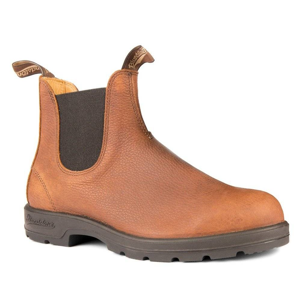 Blundstone #1445 Pebbled Brown Round Toe