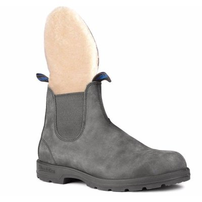Blundstone #1478 Winter Round Rustic Black