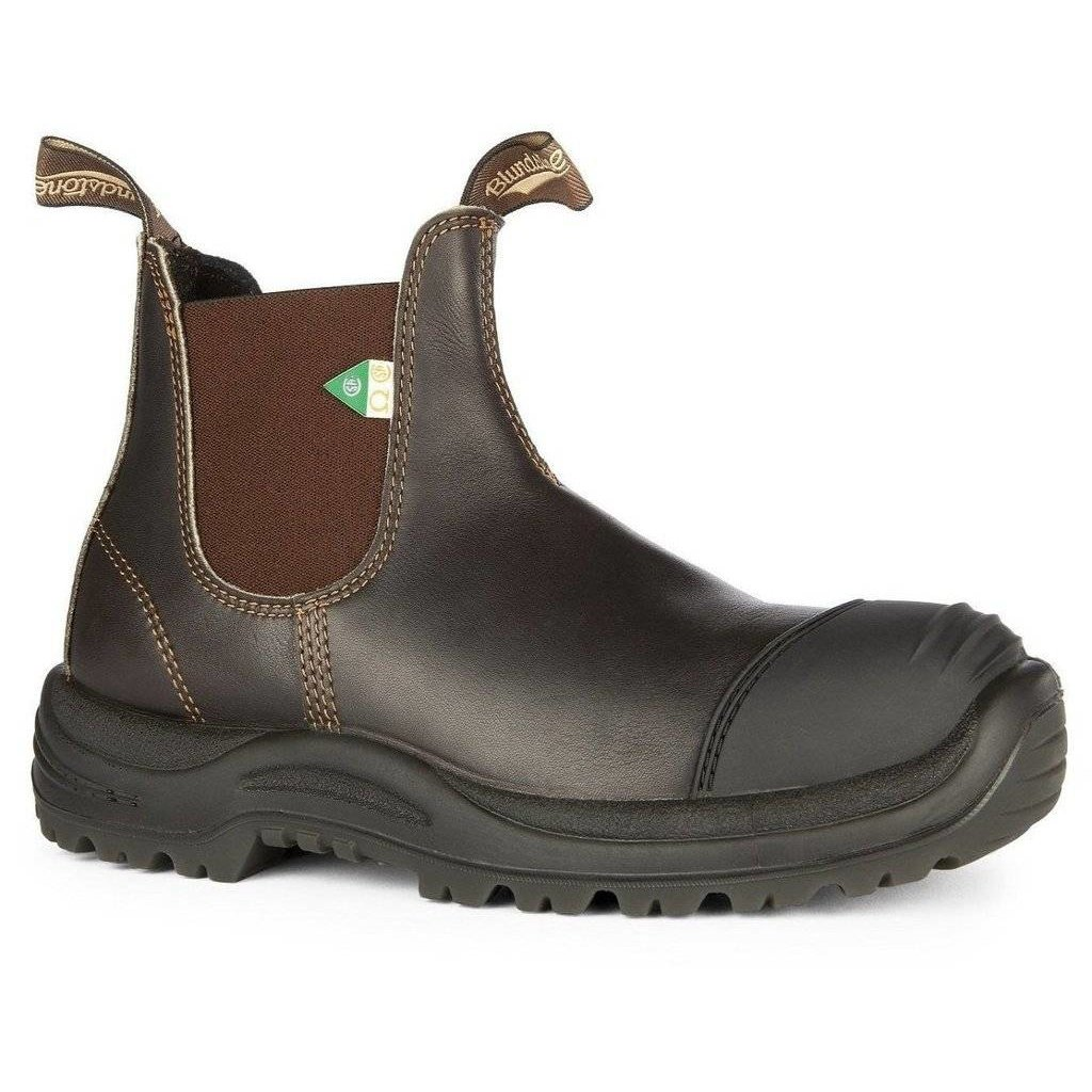 Blundstone 167 - Stout Brown Rubber Toe CSA