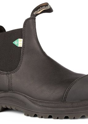 Blundstone 168 - Black Rubber Toe CSA