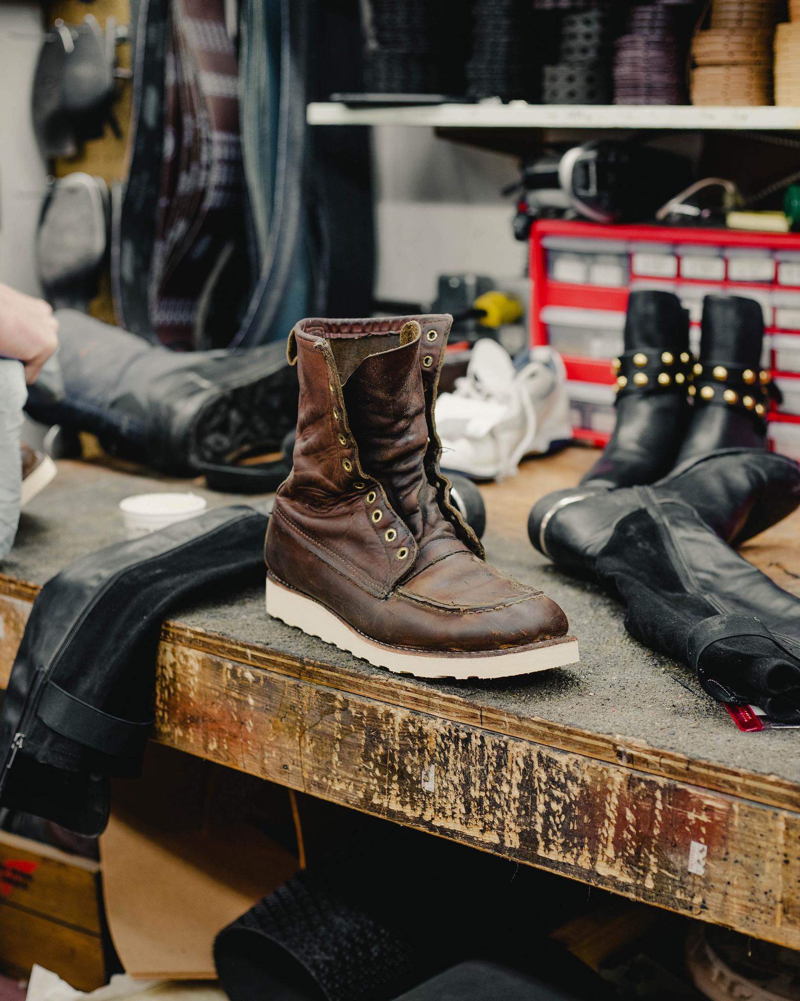 DeVito Shoe Repair: An inside look