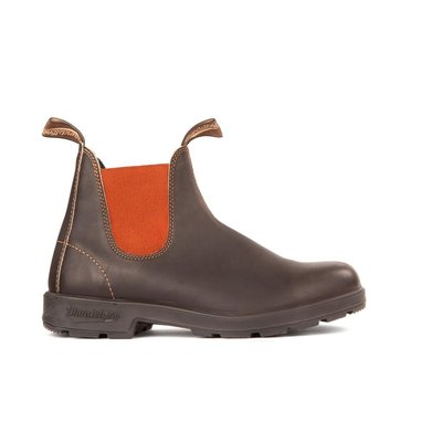 Blundstone 1918 - Stout Brown/Red Elastic