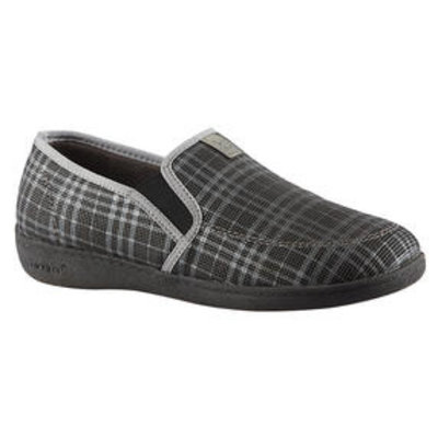 Biotime Maurice Grey Plaid