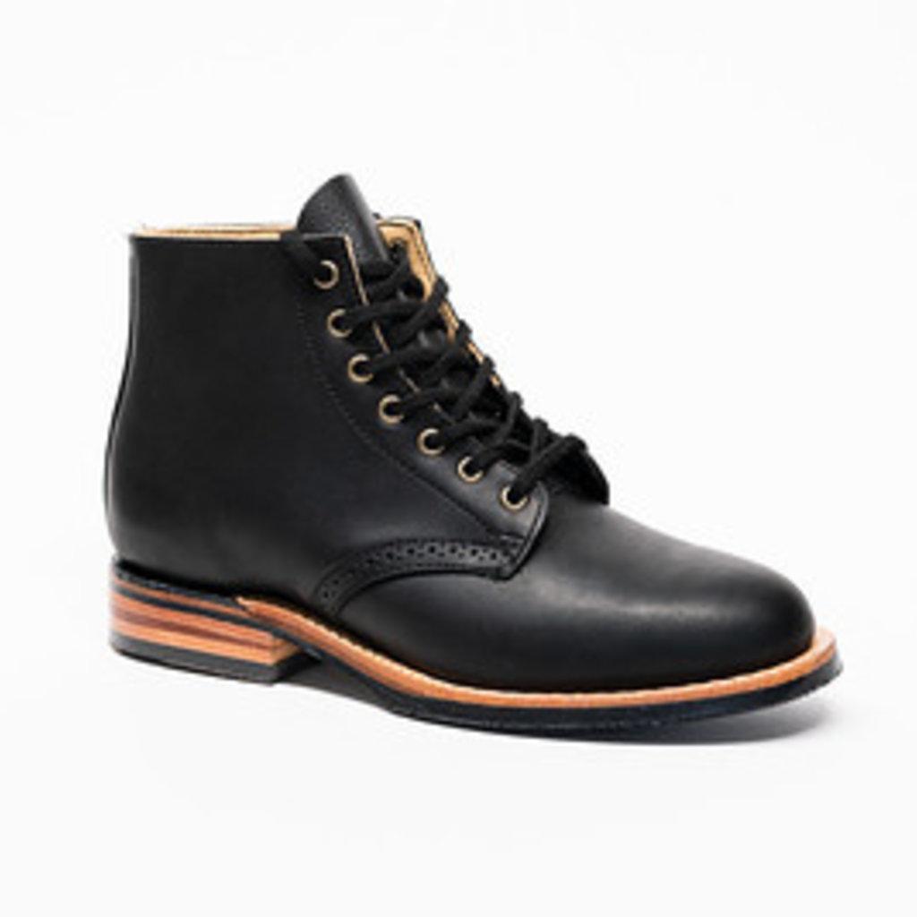 Canada West Shoe 2902- Ladies Black Grasso Moorby