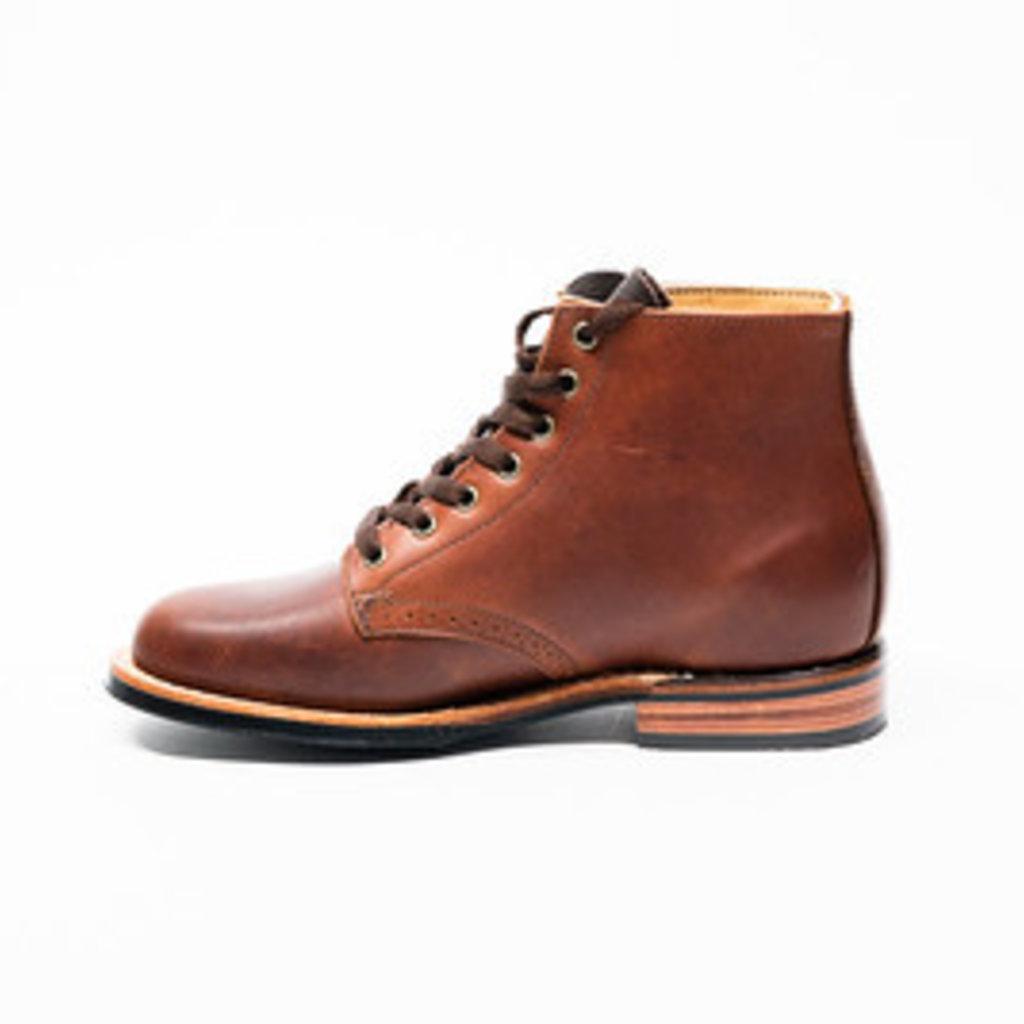 Canada West Shoe 2901- Ladies Pecan Tumbled Moorby