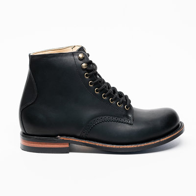 Canada West Shoe 2835 - Black Logger Moorby