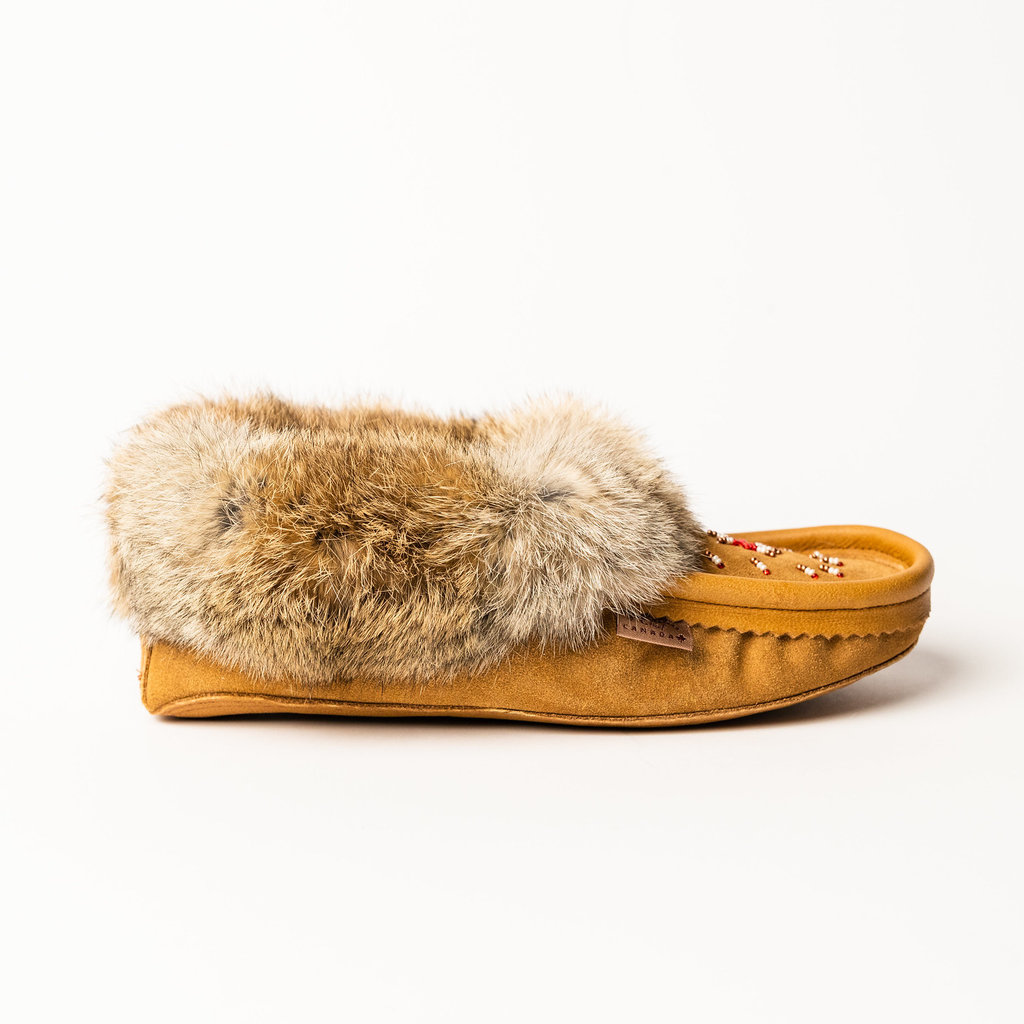 Eugene Cloutier Mocassins Women Fur Trim