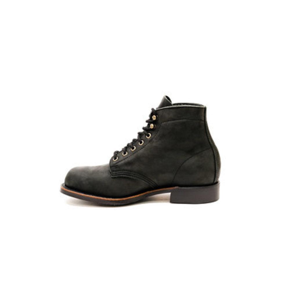 Canada West Shoe 2849 - Black Crazy Horse Moorby