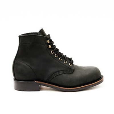 Canada West Shoe 2849 - Black Crazy Horse Moorby