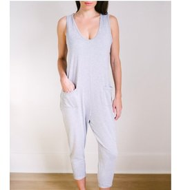 Smash & Tess Saturday Tank Romper Grey