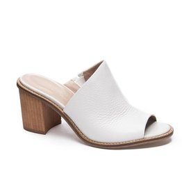 Chinese Laundry Carlin Leather Peep Toe Mule